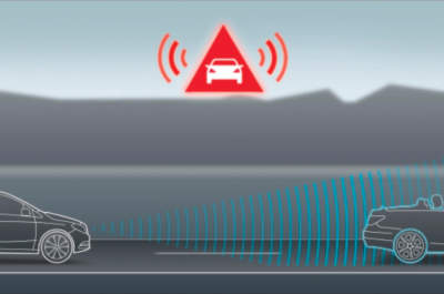 Car collision warning automatic braking systems abs for Mercedes benz collision prevention assist