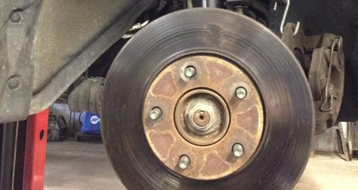 New strut damaged rotor
