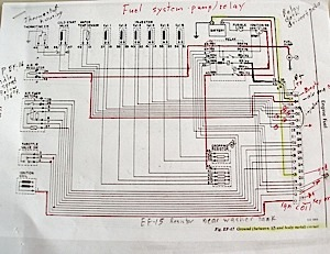 ecu diagnostics 1976 datsun 280z nissan rh import car com Bosch K-Jetronic Fuel Injection System Volvo Penta Fuel Pump Relay Wiring Diagram