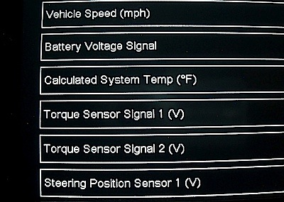 Diagnosing Electric Power Steering Issues