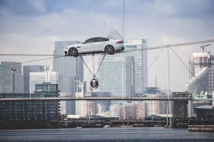 Jaguar XF high wire