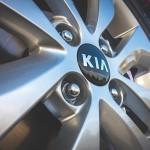 Kia maintenance hubcap
