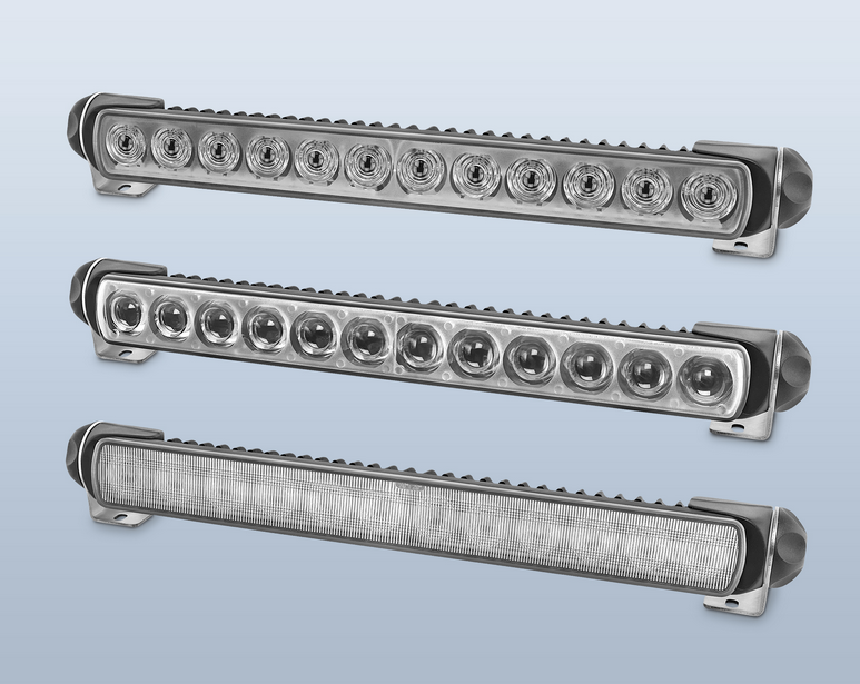 The HELLA LED Light Bar 350 is the first driving light bar manufactured with a completely  sc 1 st  Import Car Magazine & New HELLA LED Light Bar 350 Features Aerodynamic Low Profile Low ...