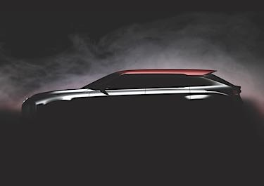 2017 Mitsubishi Ground Tourer Concept