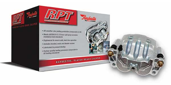 Raybestos Introduces RPT Plated Brake Calipers