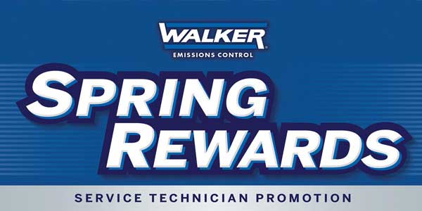 tennecos walker spring rewards gives prepaid cards to service professionals for installation of premium emissions control products - Control Prepaid Card
