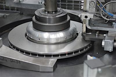 bmw rotor machining