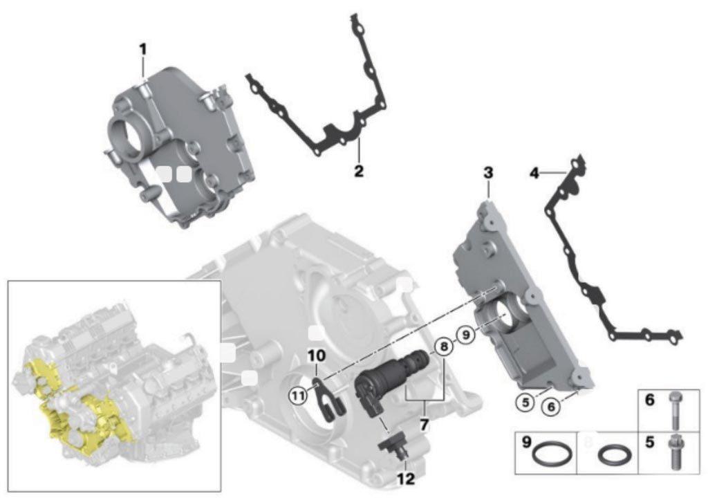 bmw-v8-solenoid-gaskets-valve-covers