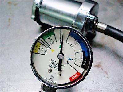 coolant system pressure testing