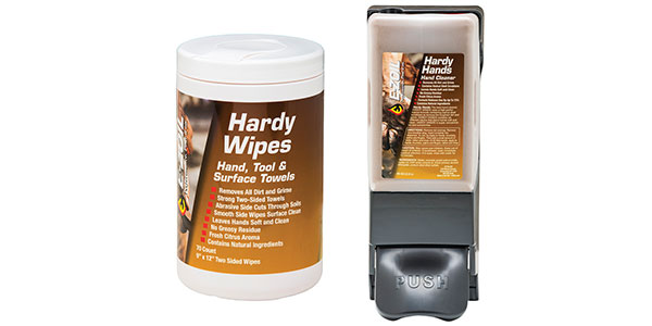 E-ZOIL Environmentally Friendly Hand Cleaner And Shop Wipes For Technicians