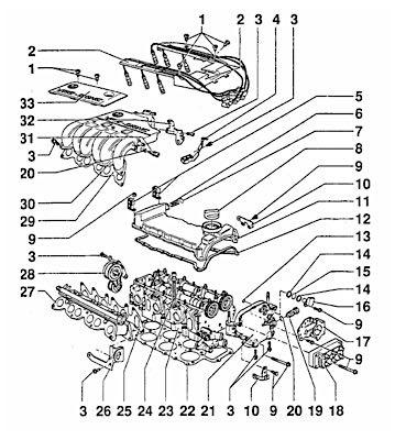 vw vr6 diagram
