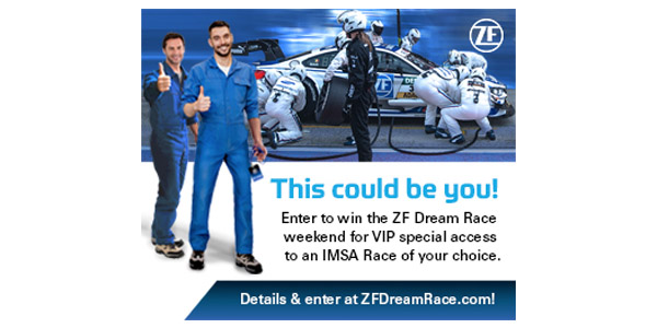 ZF Aftermarket Brings Race Dreams To Life With AAPEX, SEMA Show Attendee Giveaway