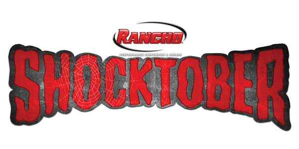 New Rancho 'Shocktober' Promotion Offers Consumers 'Scary Good' Savings On Shocks And Struts