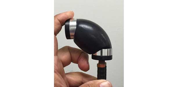 CPS VACUTEC WVA-096 Flexible Bladder Plug with Through Hole