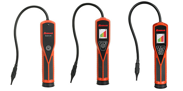 Robinair Introduces Three New Leak Detectors For Finding R-1234yf And R-134a Leaks
