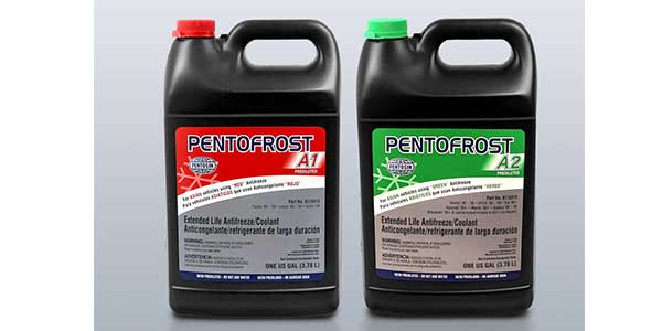 Pentofrost A1 And A2 Prediluted Antifreezes Specially Formulated And Ready To Use On Asian Vehicles
