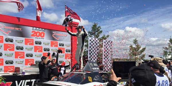 Spectra Premium High-Performance Radiator Marks First NASCAR Pinty's Series Victory