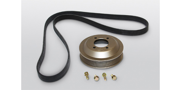 CRP Automotive Offers New Rein Automotive Aluminum Water Pump Pulley Kit For BMW