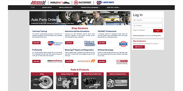 Advance Auto Parts Completes Rollout Of New MyAdvance Website
