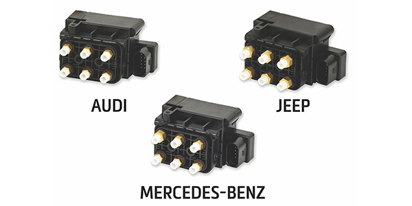 Arnott Introduces Air Suspension Solenoid Valve Blocks For Various Audi, Jeep And Mercedes-Benz Applications