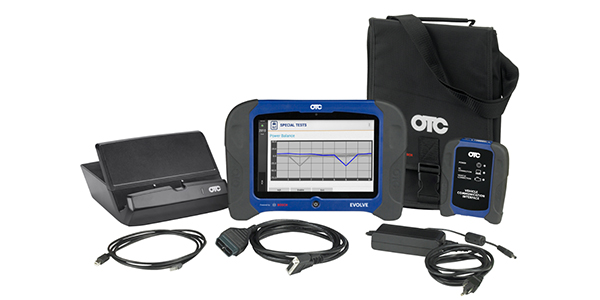 OTC Tablet Capable Of Diagnosing 25,000+ Vehicle Systems