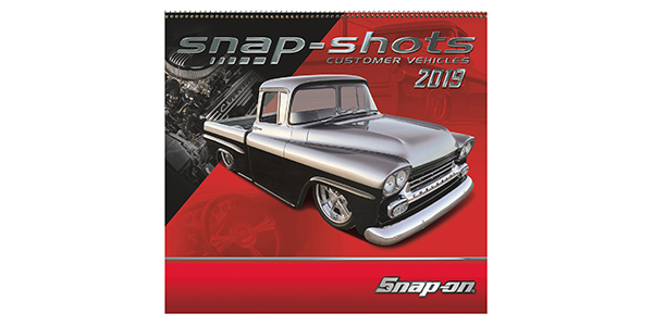 Snap-on 2019 Calendars Showcase Customer Vehicles