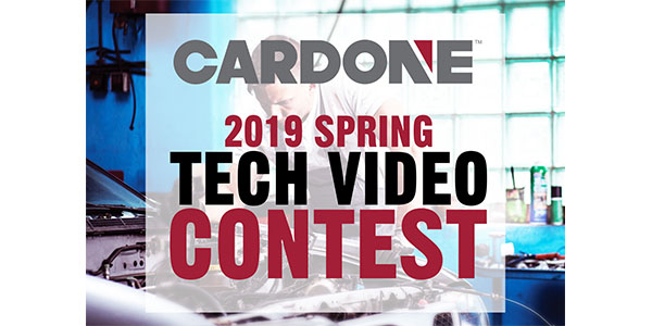 CARDONE Offers Cash For Tech Tips, Launches Video Competition To Share Industry Knowledge