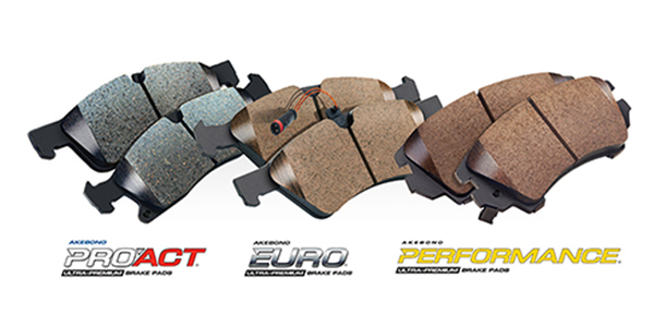 Akebono Expands Its Pro-ACT, Akebono Performance And EURO Disc Brake Pad Offerings