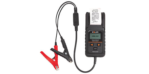 Clore Automotive Introduces New SOLAR 12V Digital Battery And Electrical System Tester