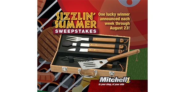 Get Ready For The Barbeque Season With  Mitchell 1's 'Sizzlin' Summer Sweepstakes