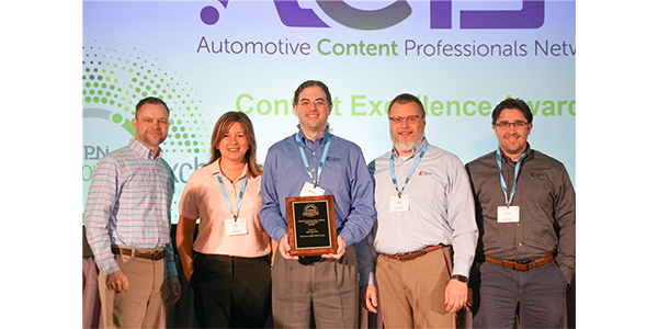 Raybestos Web Catalog Wins Automotive Content Professionals Network Award