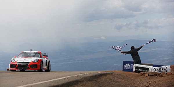Yokohama Tire Returns To The 'Race To Clouds' As Sponsor And Exclusive Tire Provider For The Porsche Pikes Peak Division