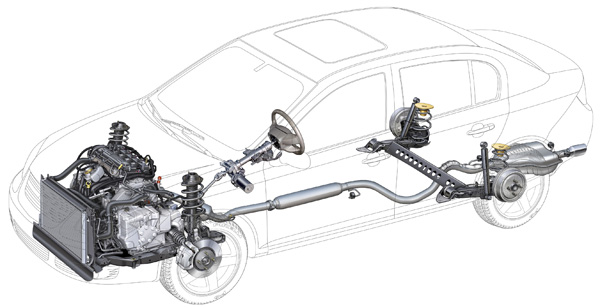 Alignment Suspension Specs 2005 2010 Chevy Cobalt And Pontiac G5