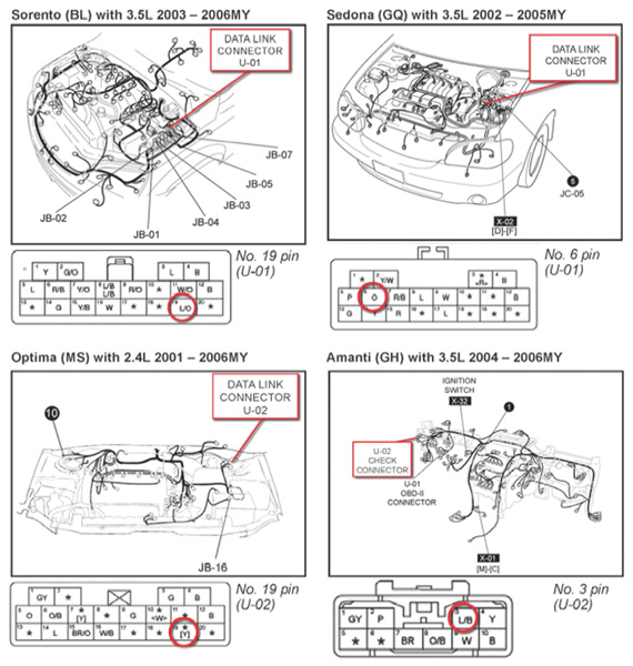 tech tip kia has intermittent mil on with no fault code stored pump wire diagram 2005 rio starter wire diagram #9